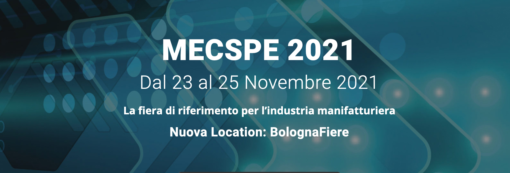MECSPE 2021 nuova location